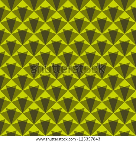 Abstract geometric seamless pattern with triangle.