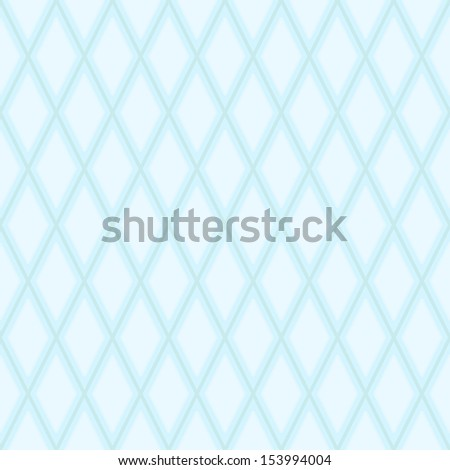 Abstract geometric seamless texture - blue lines forming the diamonds