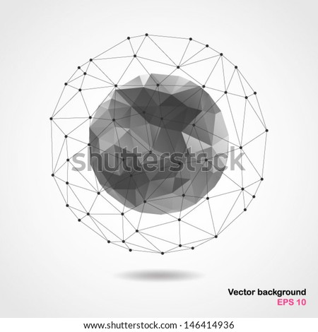 abstract geometric spherical