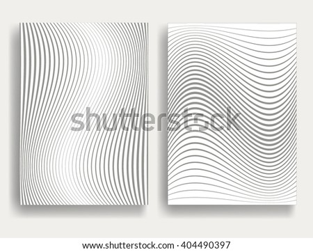 abstract geometric stripe