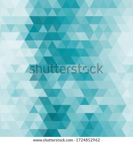 abstract geometric turquoise