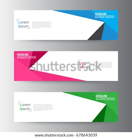 Abstract geometric vector Web banner design background, header Templates design. sale banner template.
