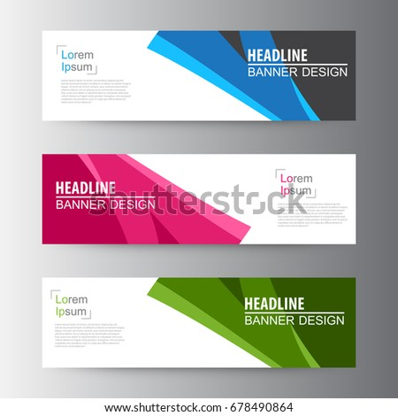 Abstract geometric vector Web banner design background, header Templates design.Sale banner template