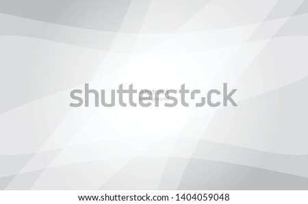 Abstract geometric white and gray color background. Vector, illustration #1404059048