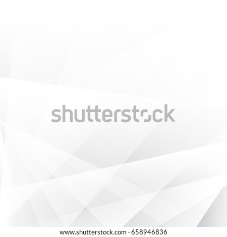 abstract geometric white and