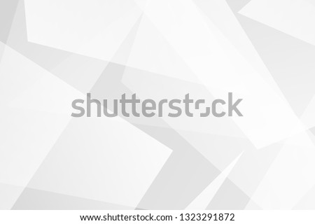 Abstract geometric white and grey on light silver background modern design. Vector illustration EPS 10.