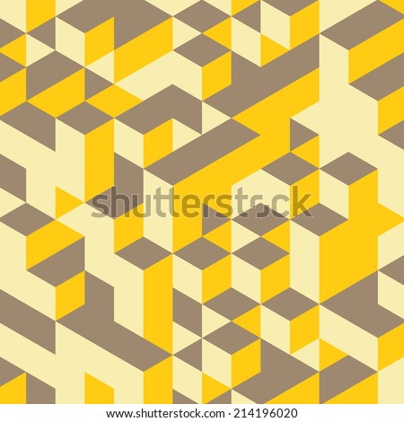 abstract geometrical 3d