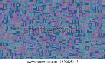 abstract geometrical mosaic