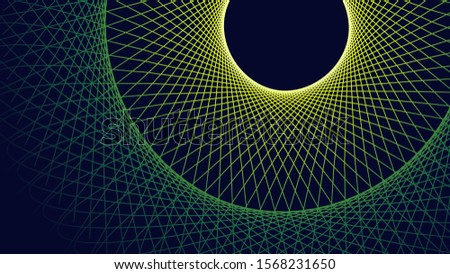abstract geometry fractal