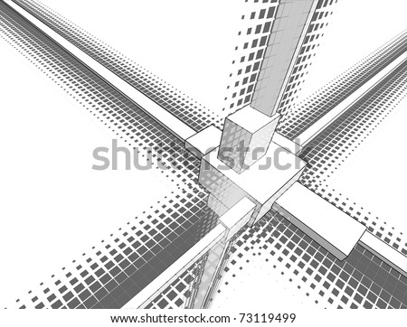 Abstract geometry in semitones