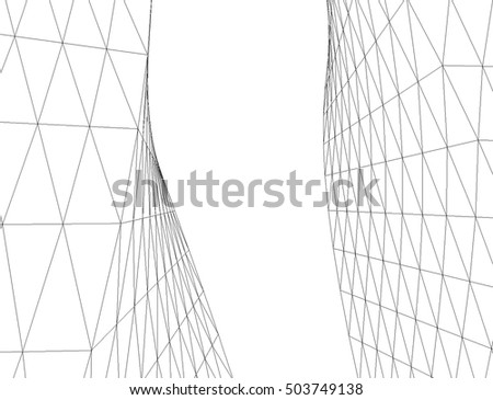 Abstract geometry. Structure background #503749138