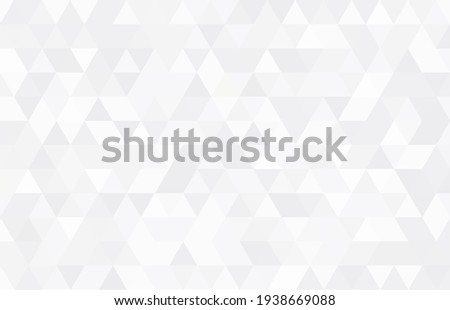 Abstract geometry  triangle  pattern white and gray background.vector