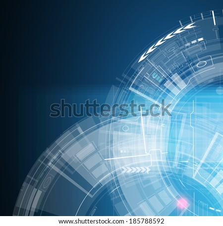 abstract global infinity computer  technology concept business background