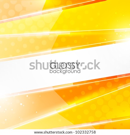 Abstract glossy vector background