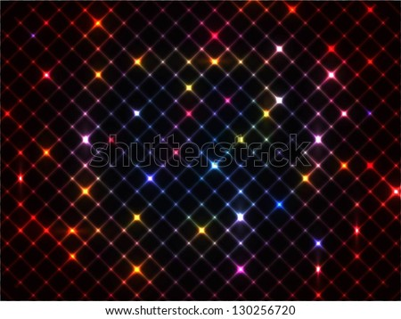 Abstract glowing lights background