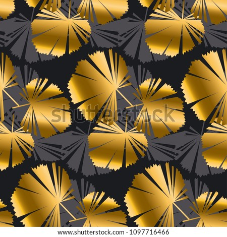 stock-vector-abstract-gold-and-black-leaves-tropical-seamless-pattern-decorative-luxury-tropical-foliage-for
