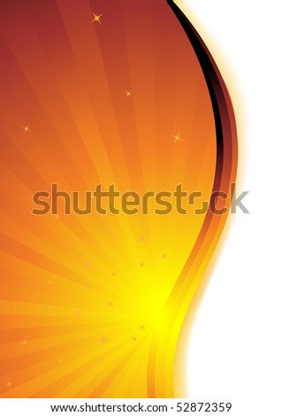 Abstract gold background. Clip-art - stock vector