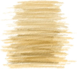 Abstract gold grunge watercolor hand paint texture, isolated on white background, watercolor textured backdrop, traced, vector eps 10