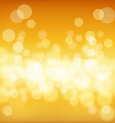 abstract golden background with blur effects. vector