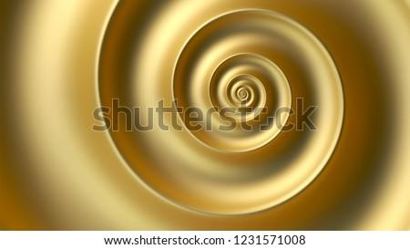 Abstract golden spiral vector background. Fibonacci spiral background.