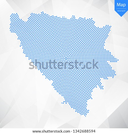 abstract graphic bosnia and