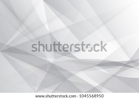 Abstract gray and white Lowpoly vector background. Template for style design. Vector illustration. Used transparency layers of background