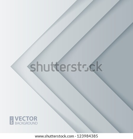 Abstract gray and white triangle shapes background. RGB EPS 10 vector illustration