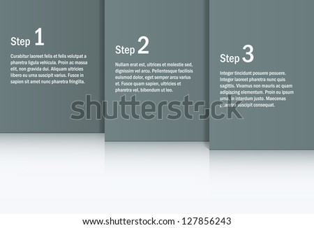 Abstract gray background. EPS10 vector