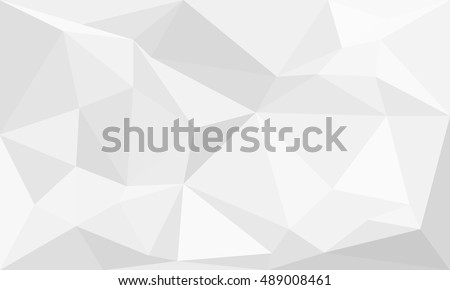 abstract Gray background  low poly textured triangle shapes in random pattern design ,vector design  illustration