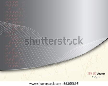 Abstract gray background on vintage