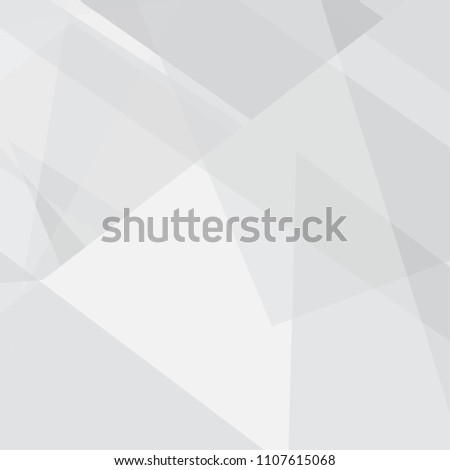 abstract gray geometric texture background. creative grey triangle pattern design. vector illustration #1107615068