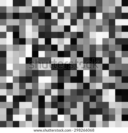 abstract grayscale pixels noise