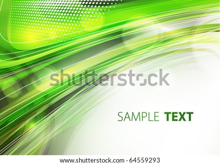 Abstract green and grey eco background. Vector