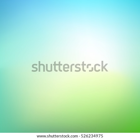 abstract green blurred gradient