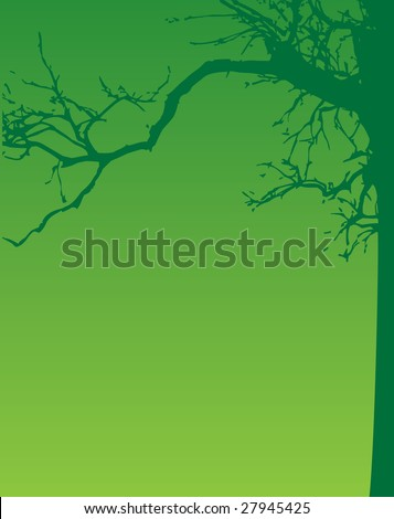 Abstract green ecology background