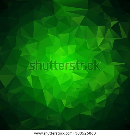 abstract green geometric