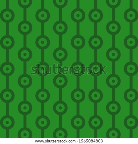 abstract green pattern inspired