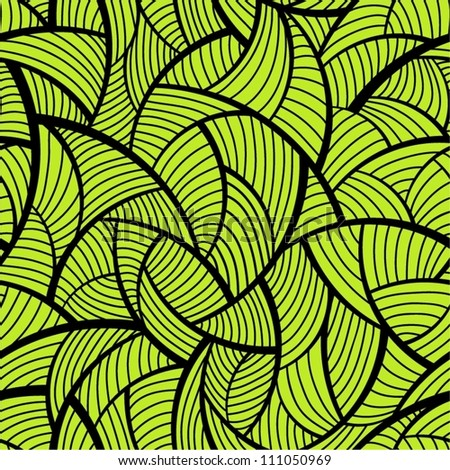 Abstract green seamless pattern.