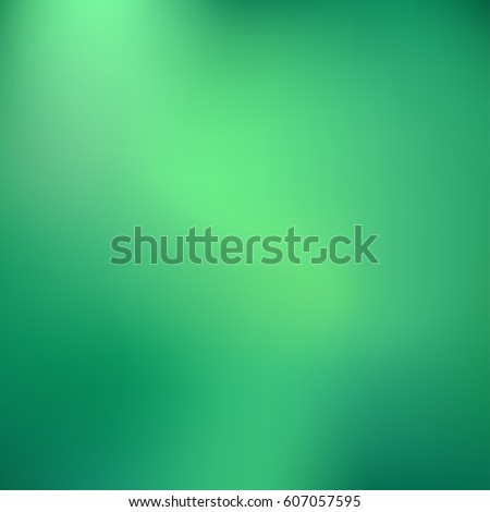 Abstract green spring background. Vector blur backdrop