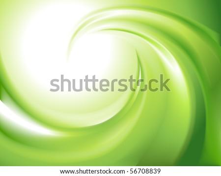 stock-vector-abstract-green-swirl