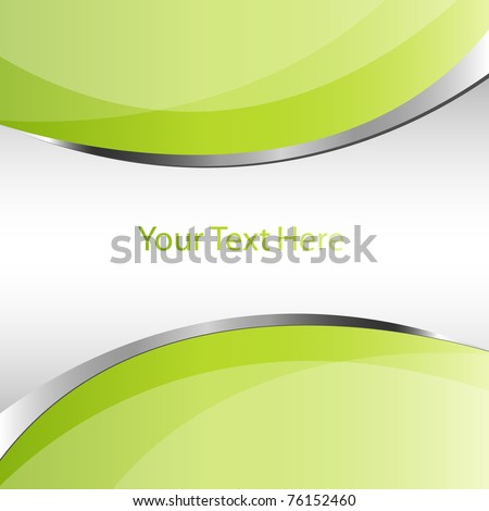 Abstract green vector business background