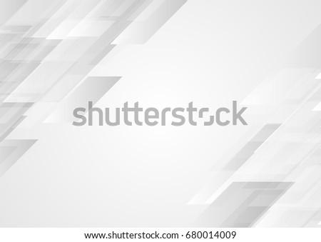 Abstract grey hi-tech corporate background. Vector design