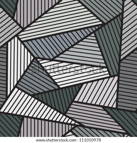 Abstract grey seamless pattern.