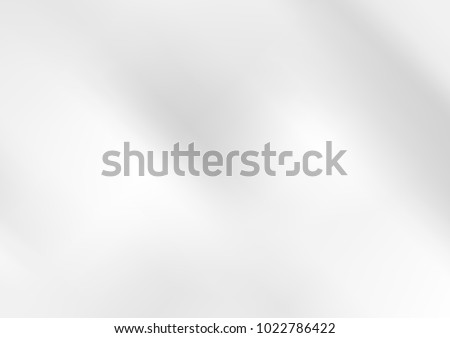 Abstract grey smooth gradient background. Vector design