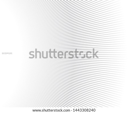 Abstract  grey white waves and lines pattern for your ideas, template background texture - Vector illustration #1443308240