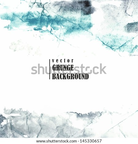 Abstract grunge background. Urban style. Watercolor spots.