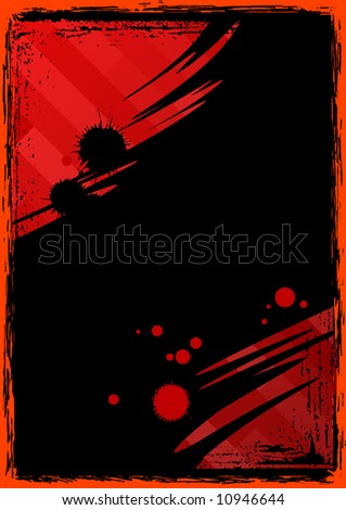 Abstract grunge background vector illustration.