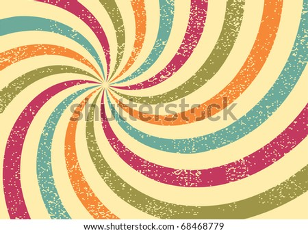 Abstract grunge background, vector illustration. Grunge effect can be cleaned easily.