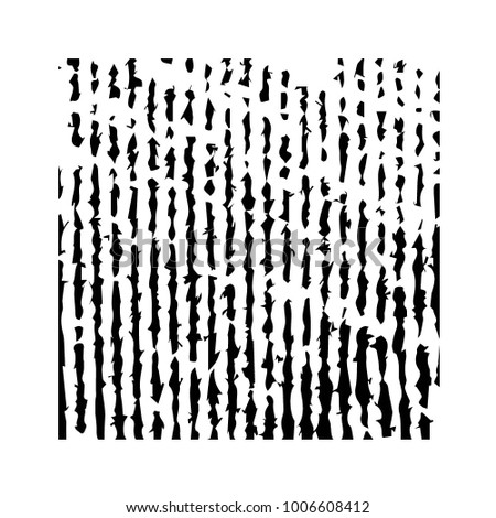 Abstract grunge grid halftone background pattern. Black and white vector line illustration