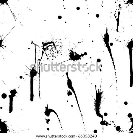 Abstract grunge vector seamless pattern.  For easy making seamless pattern just drag all group into swatches bar, and use it for filling any contours.